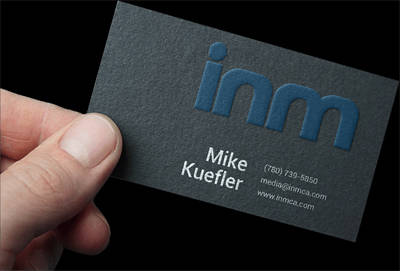 Classy, conservative or uniquely creative, INM can design the business card you need.