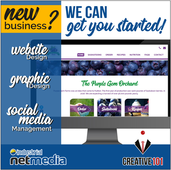 INM/Creative101 can get your business online!
