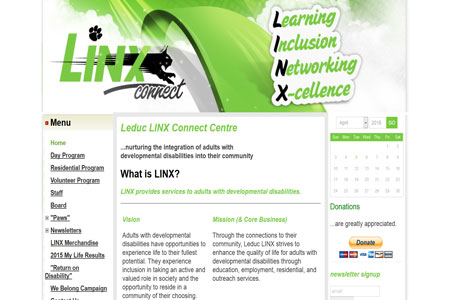 Linx connect website