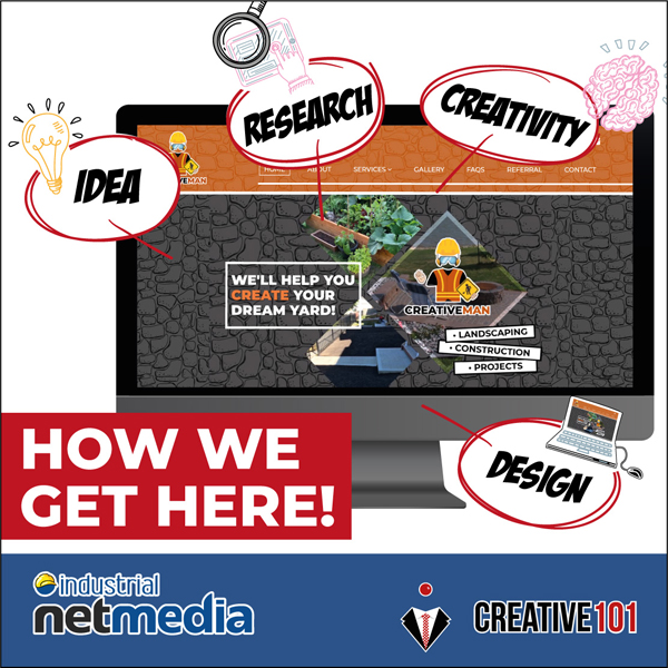 Hire Industrial NetMedia to design your website!
