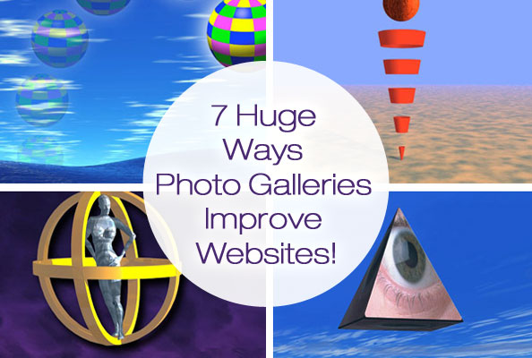 Photo galleries improve websites