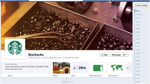 facebook cover photo - starbucks