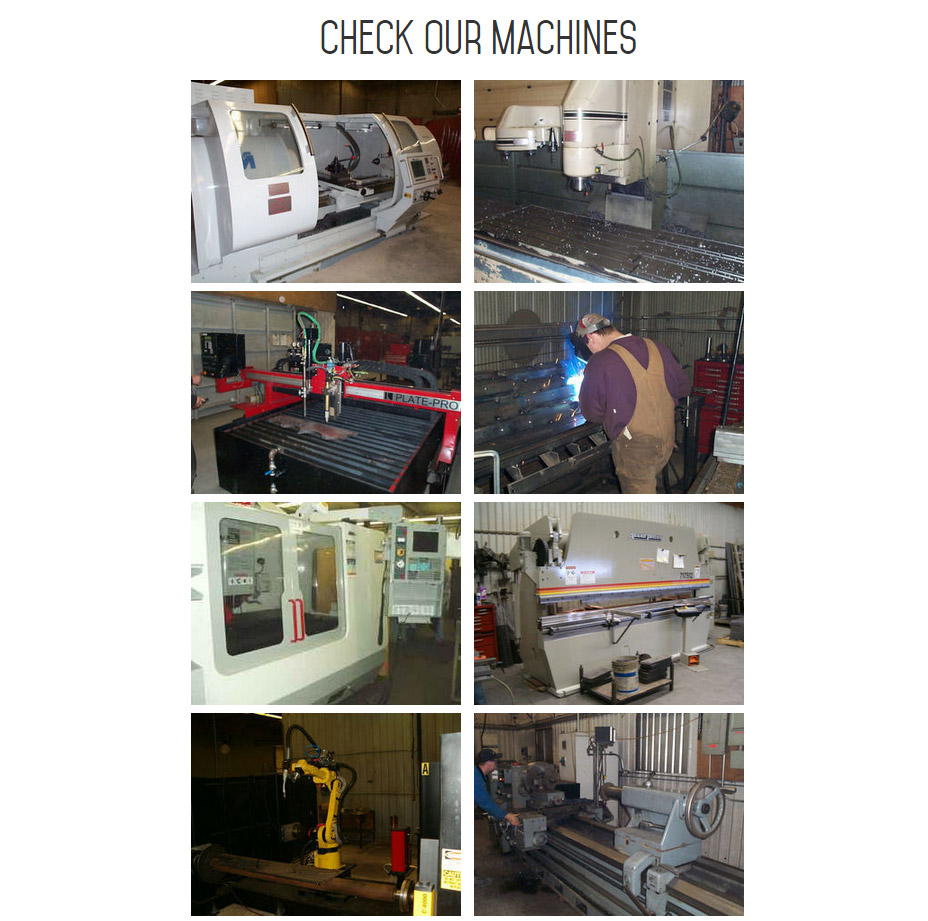 INM built a specific page promoting Sunnybrook Welding's collection of heavy-duty industrial machinery that makes them a world-class farm machinery parts supplier.