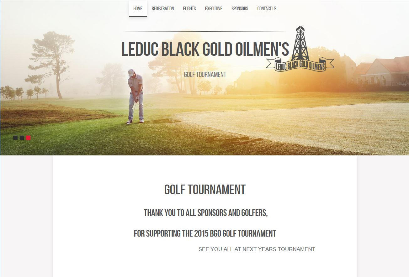 Blackgold Oilman's Home Page carousel images developed by Industrial NetMedia